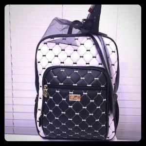 Betsey Johnson/Luv Betsey Black/White Backpack